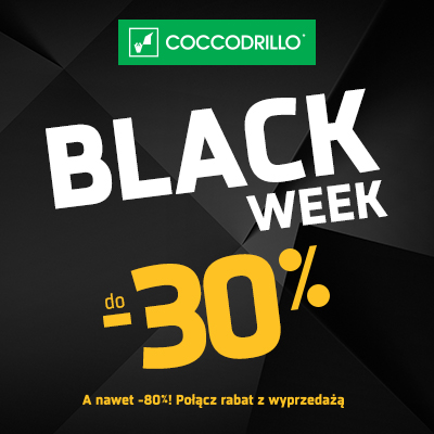 Black Week w Coccodrillo!