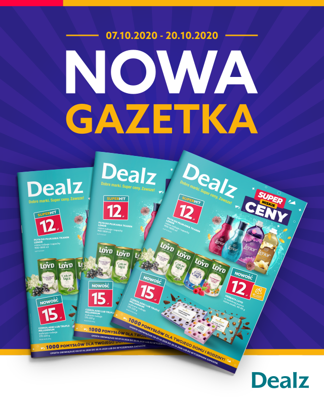 Nowa gazetka DEALZ !